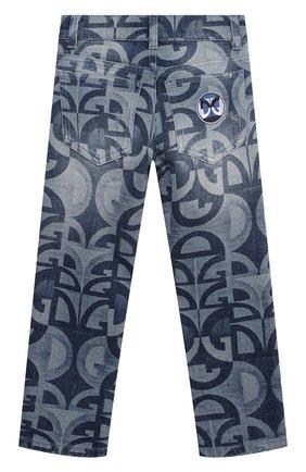 Детские джинсы DOLCE & GABBANA голубого цвета, арт. L42F05/LD917/8-14 | Фото 2