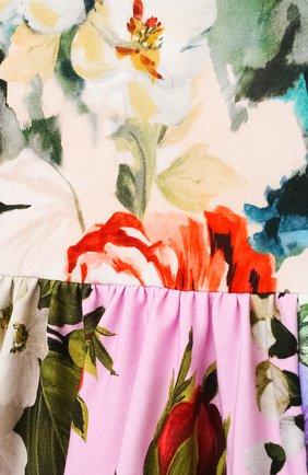 Женский комплект из платья и шорт DOLCE & GABBANA разноцветного цвета, арт. L2JD2P/G7YRD   Фото 3