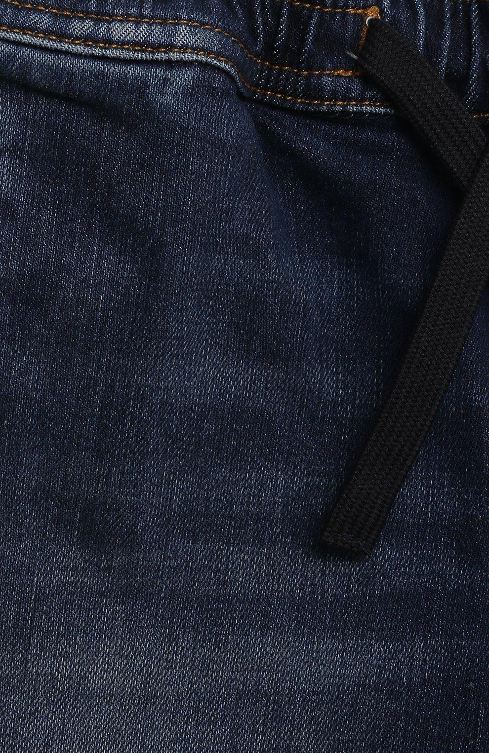 Детские джинсовые шорты DOLCE & GABBANA темно-синего цвета, арт. L12Q71/LD952 | Фото 3