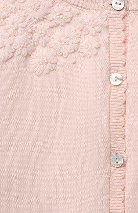 Детский хлопковый кардиган TARTINE ET CHOCOLAT розового цвета, арт. TS18011/18M-3A | Фото 3