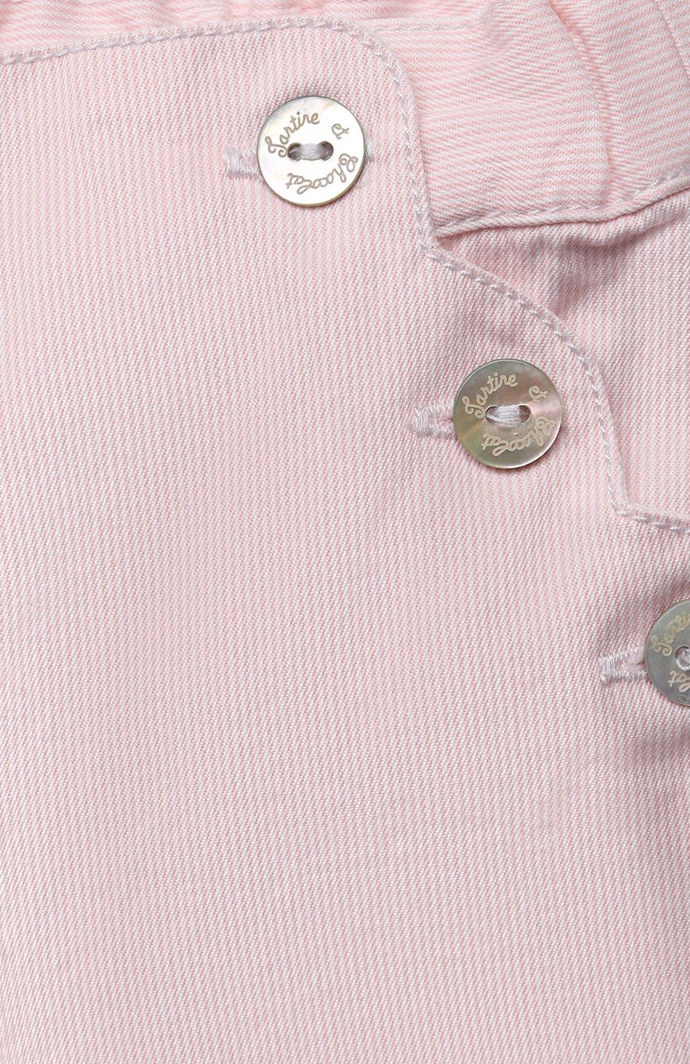 Детские джинсы TARTINE ET CHOCOLAT светло-розового цвета, арт. TS22021/1M-1A | Фото 3