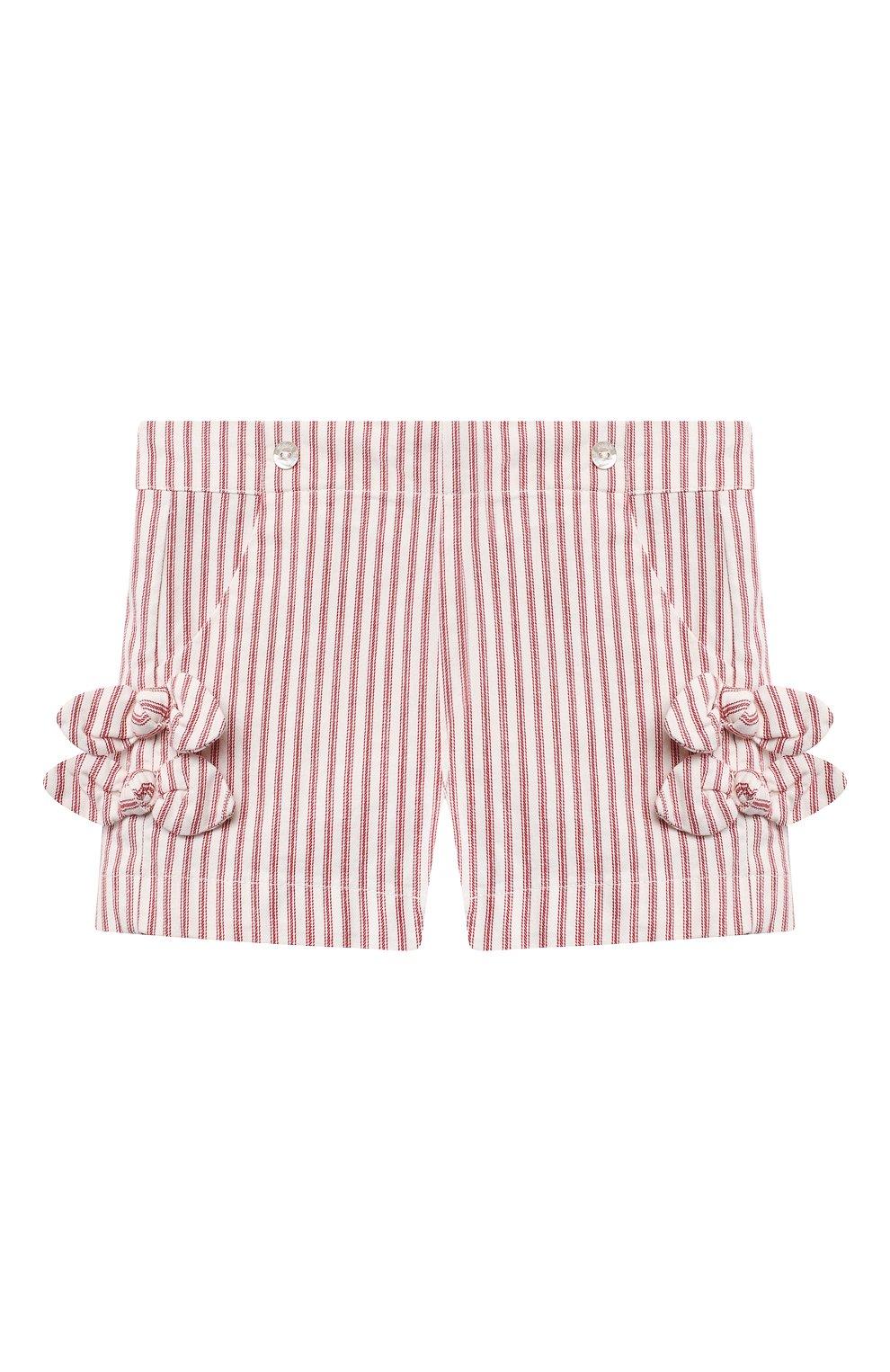 Детские хлопковые шорты TARTINE ET CHOCOLAT красного цвета, арт. TS26151/18M-3A | Фото 1