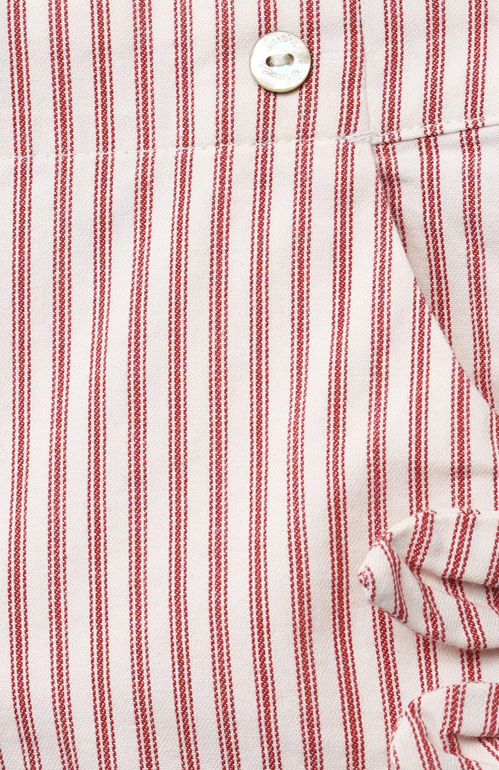 Детские хлопковые шорты TARTINE ET CHOCOLAT красного цвета, арт. TS26151/18M-3A | Фото 3