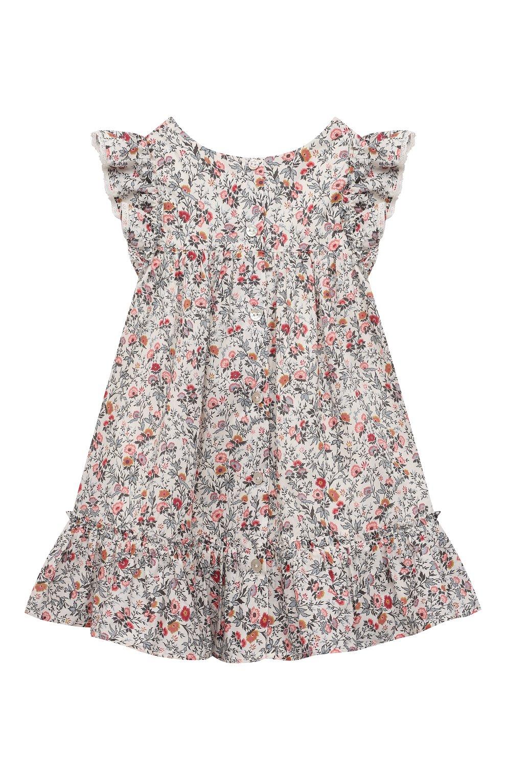 Женский хлопковое платье TARTINE ET CHOCOLAT разноцветного цвета, арт. TS30011/1M-1A | Фото 2