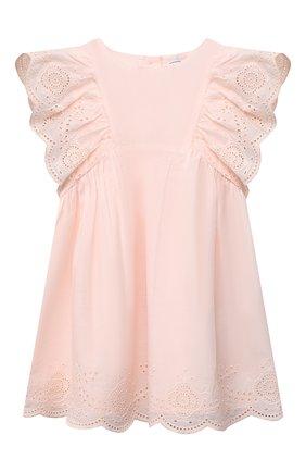 Женский хлопковое платье TARTINE ET CHOCOLAT розового цвета, арт. TS30031/18M-3A | Фото 1