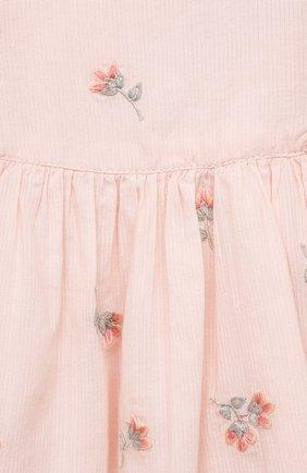 Женский хлопковое платье TARTINE ET CHOCOLAT розового цвета, арт. TS30041/1M-1A | Фото 3