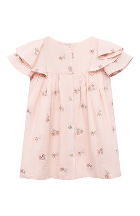 Женский хлопковое платье TARTINE ET CHOCOLAT розового цвета, арт. TS30041/18M-3A | Фото 2