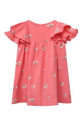 Женский хлопковое платье TARTINE ET CHOCOLAT кораллового цвета, арт. TS30041/18M-3A | Фото 1