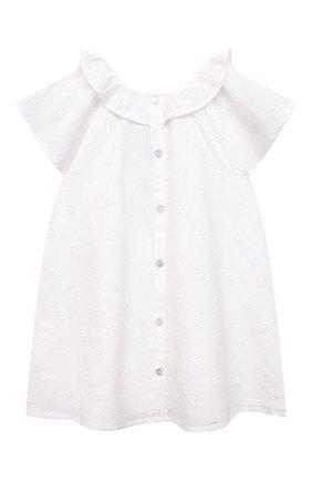 Женский хлопковое платье TARTINE ET CHOCOLAT белого цвета, арт. TS30121/18M-3A | Фото 2