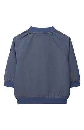 Детского джинсовая куртка TARTINE ET CHOCOLAT темно-синего цвета, арт. TS41001/1M-9M   Фото 2