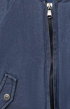 Детского джинсовая куртка TARTINE ET CHOCOLAT темно-синего цвета, арт. TS41001/1M-9M   Фото 3