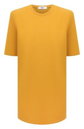 Женское хлопковое платье THE FRANKIE SHOP желтого цвета, арт. DR SEA KR 09 | Фото 1
