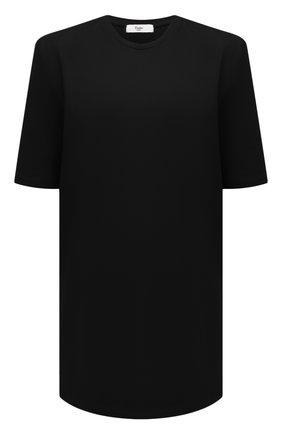 Женское хлопковое платье THE FRANKIE SHOP черного цвета, арт. DR SEA KR 09 | Фото 1