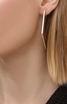 Женские серьги JEWLIA разноцветного цвета, арт. JR-19   Фото 2 (Материал: Золото)