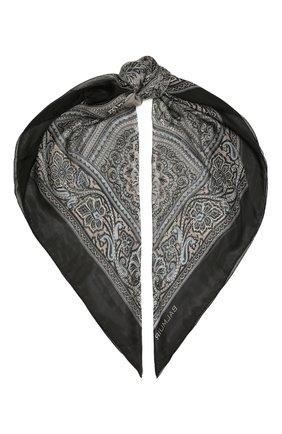 Женский шелковый платок como BALMUIR черного цвета, арт. 178000   Фото 1