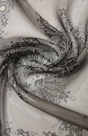 Женский шелковый платок como BALMUIR черного цвета, арт. 178000   Фото 2