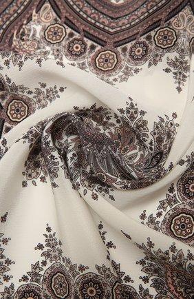 Женский шелковый платок verona BALMUIR розового цвета, арт. 178300   Фото 2