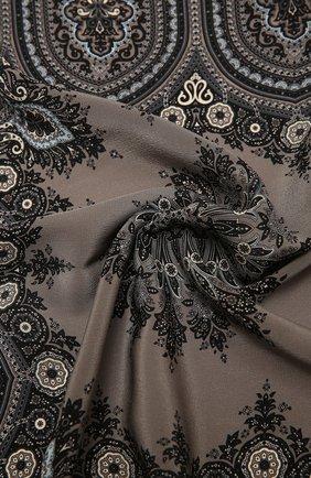 Женский шелковый платок verona BALMUIR черного цвета, арт. 178300   Фото 2
