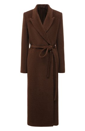 Женское шерстяное пальто TOTÊME коричневого цвета, арт. 211-101-709 | Фото 1