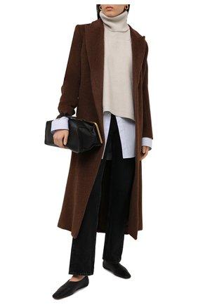 Женское шерстяное пальто TOTÊME коричневого цвета, арт. 211-101-709 | Фото 2