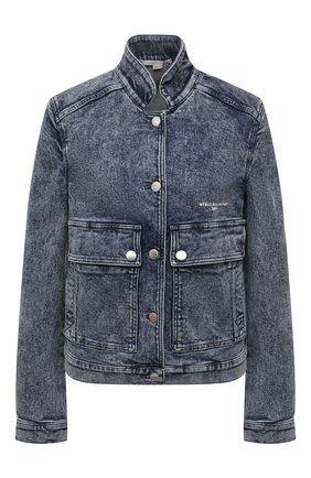 Женская джинсовая куртка STELLA MCCARTNEY синего цвета, арт. 602893/S0H29 | Фото 1