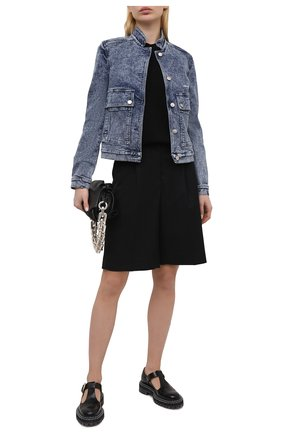 Женская джинсовая куртка STELLA MCCARTNEY синего цвета, арт. 602893/S0H29 | Фото 2