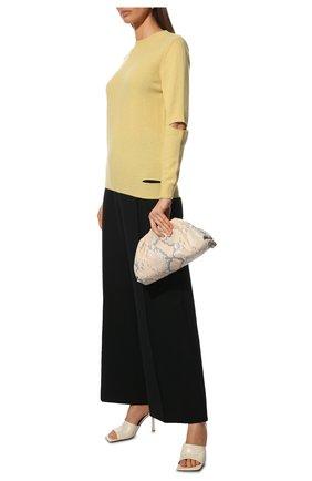 Женский кашемировый пуловер STELLA MCCARTNEY желтого цвета, арт. 601883/S7231 | Фото 2