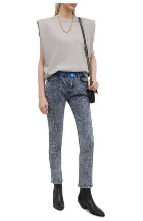 Женские джинсы STELLA MCCARTNEY синего цвета, арт. 372773/S0H26 | Фото 2