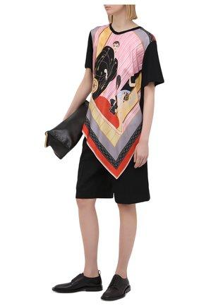 Женская футболка LANVIN разноцветного цвета, арт. RW-T0691J-4792-P21 | Фото 2