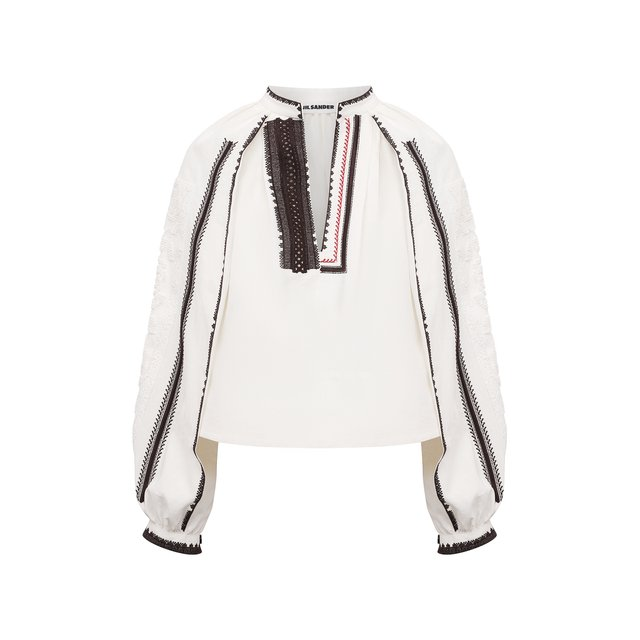 Льняная блузка Jil Sander