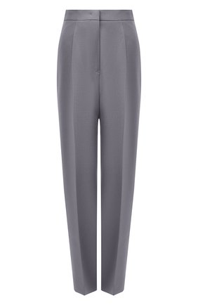 Женские шерстяные брюки JIL SANDER серого цвета, арт. JSPS300425-WS201000 | Фото 1