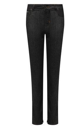 Женские джинсы TOM FORD черного цвета, арт. PAD056-DEX095 | Фото 1 (Длина (брюки, джинсы): Стандартные; Материал внешний: Хлопок, Деним; Стили: Кэжуэл; Кросс-КТ: Деним; Силуэт Ж (брюки и джинсы): Узкие)