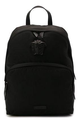 Женский рюкзак medusa VERSACE черного цвета, арт. DFZ8504/DNY8ME | Фото 1