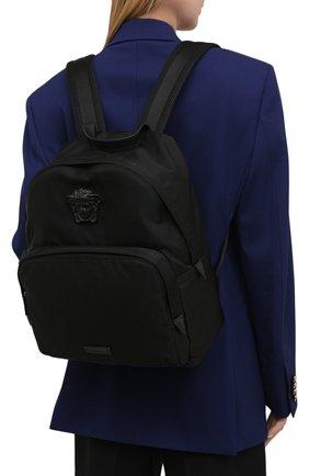 Женский рюкзак medusa VERSACE черного цвета, арт. DFZ8504/DNY8ME | Фото 2