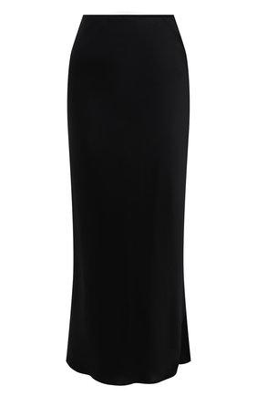 Женская шелковая юбка DOROTHEE SCHUMACHER черного цвета, арт. 049504/SENSE 0F SHINE | Фото 1