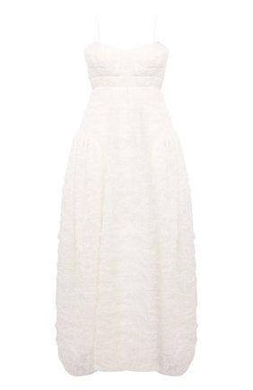 Женское платье CECILIE BAHNSEN белого цвета, арт. SC21-0041 | Фото 1