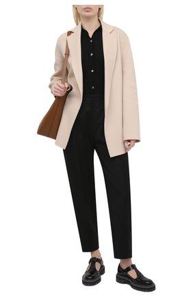 Женское пальто из шерсти и кашемира JOSEPH бежевого цвета, арт. JF005234 | Фото 2