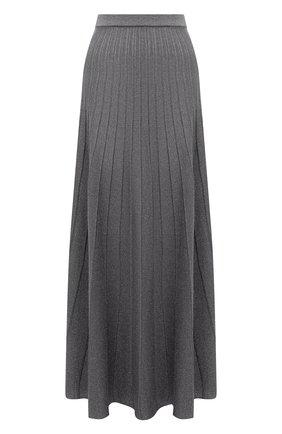 Женская юбка JOSEPH темно-серого цвета, арт. JF005178 | Фото 1