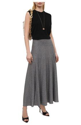 Женская юбка JOSEPH темно-серого цвета, арт. JF005178 | Фото 2