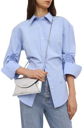 Женская сумка convivie COCCINELLE серебряного цвета, арт. E5 HV3 59 02 14 | Фото 2