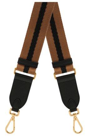 Женские ремень для сумки nastro COCCINELLE коричневого цвета, арт. E3 HZ6 68 05 31   Фото 1