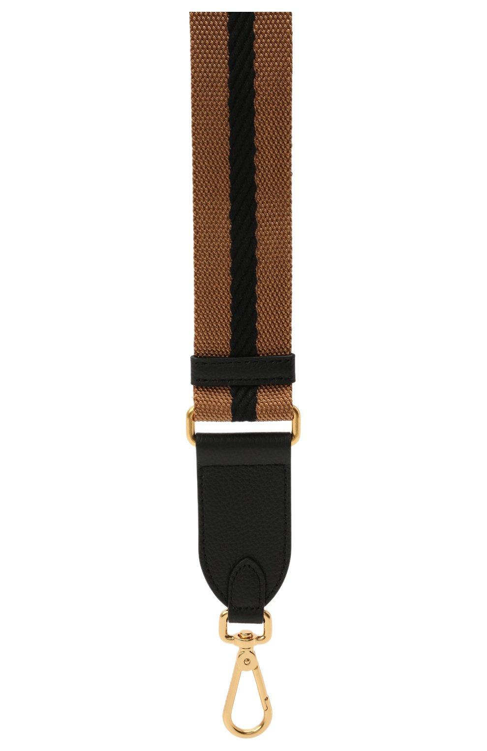 Женские ремень для сумки nastro COCCINELLE коричневого цвета, арт. E3 HZ6 68 05 31   Фото 2