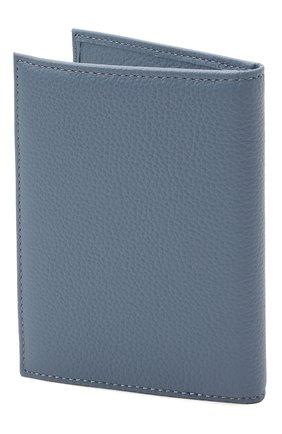 Женские кожаная обложка для паспорта COCCINELLE синего цвета, арт. E2 HL0 12 91 01   Фото 2