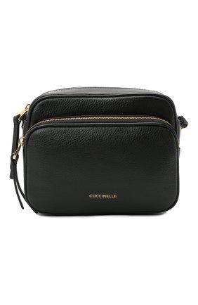 Женская сумка lea COCCINELLE черного цвета, арт. E1 H60 15 01 01   Фото 1