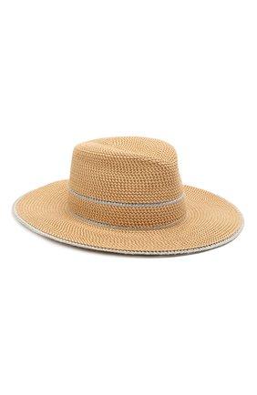 Женская шляпа ERIC JAVITS бежевого цвета, арт. 13802/GE0RGIA | Фото 1