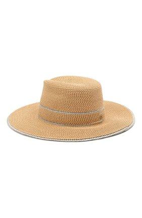 Женская шляпа ERIC JAVITS бежевого цвета, арт. 13802/GE0RGIA | Фото 2