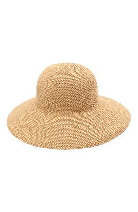 Женская шляпа ERIC JAVITS бежевого цвета, арт. 13804/HAMPT0N   Фото 1