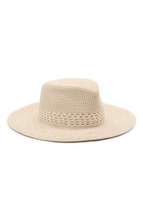 Женская шляпа ERIC JAVITS бежевого цвета, арт. 14013/SQ BAY0U | Фото 1