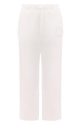Женские брюки MM6 белого цвета, арт. S52KA0296/S25409 | Фото 1