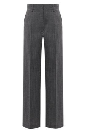 Женские брюки MM6 серого цвета, арт. S62KB0067/S53243 | Фото 1